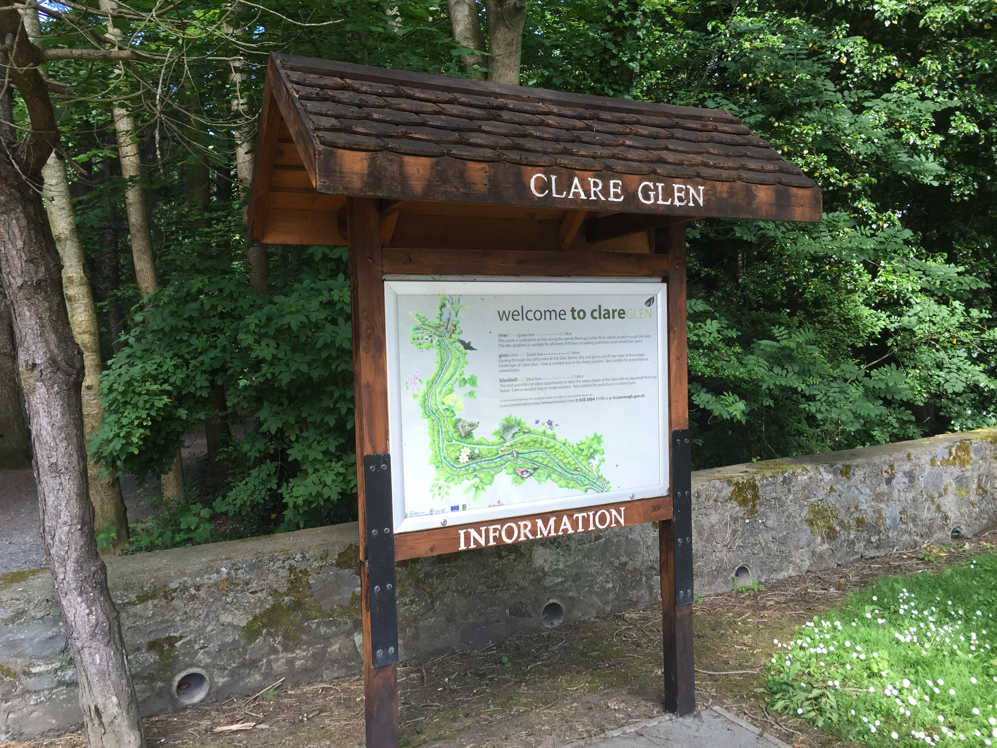 map county clare