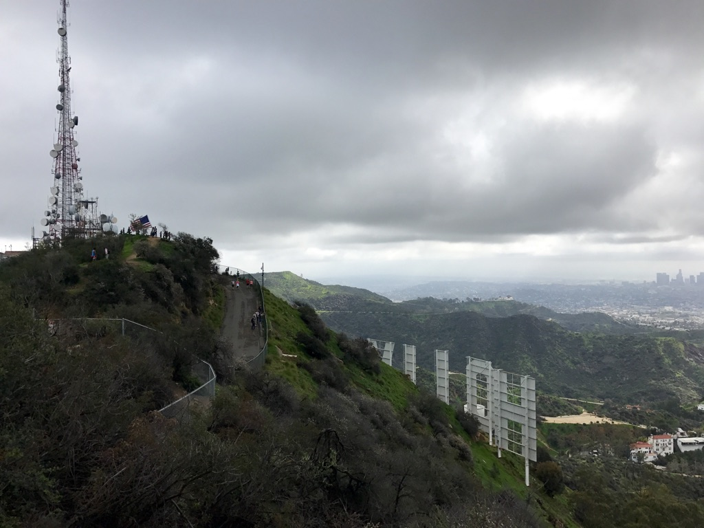 Viewranger Griffith Old La Zoo Hollywood Sign Hiking Route In