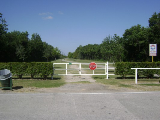 Viewranger Houston Tx George Bush Park Hiking Route In Park