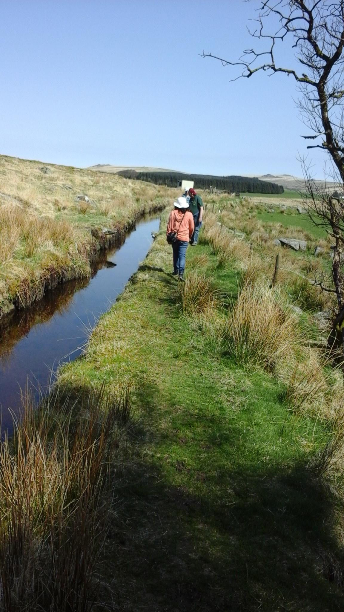ViewRanger - Devonport Leat - Walking route in Princetown, Devon