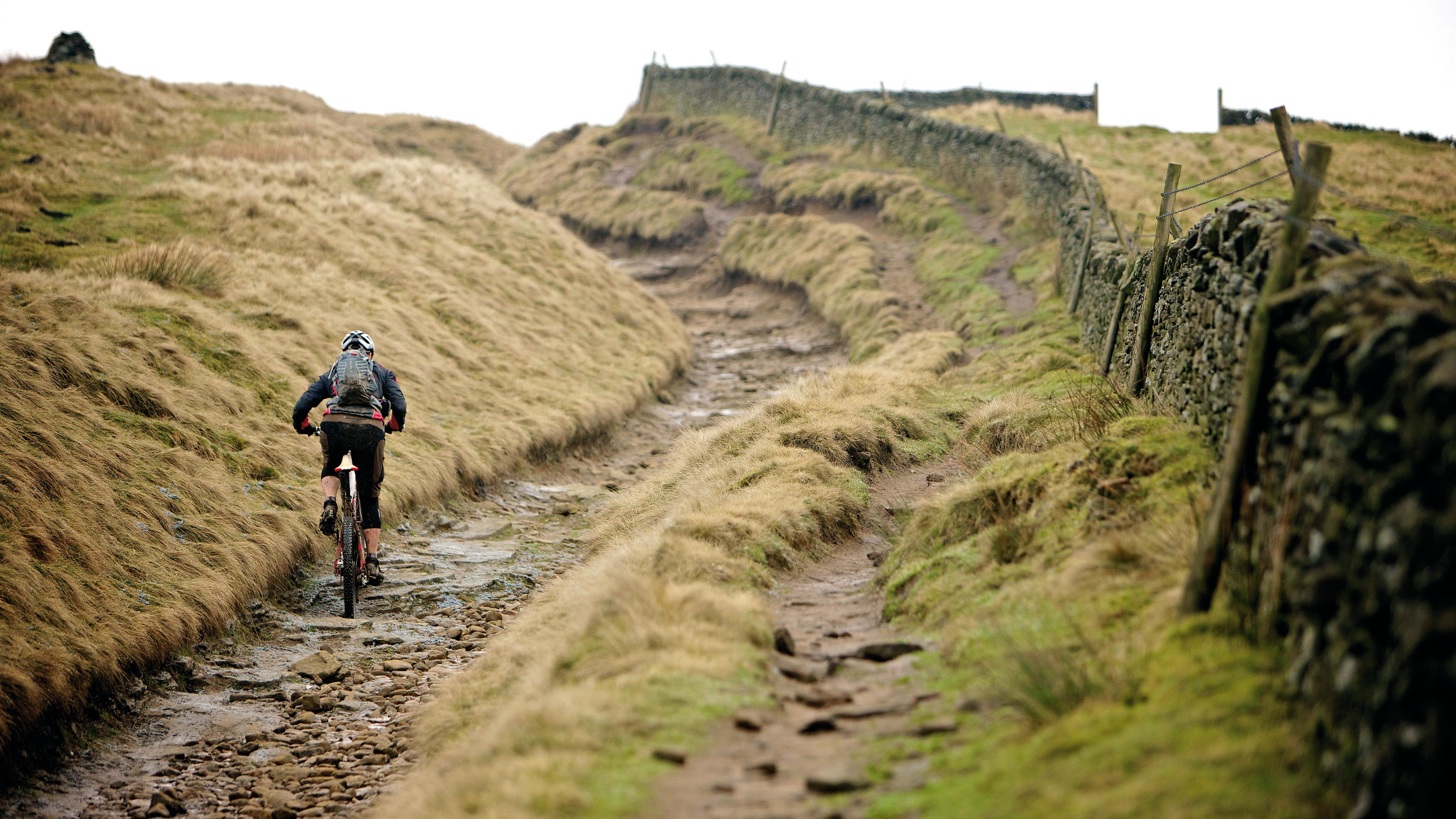 e7f3a84abaf Mountain Biking route in Hope Valley, Derbyshire, England, United Kingdom