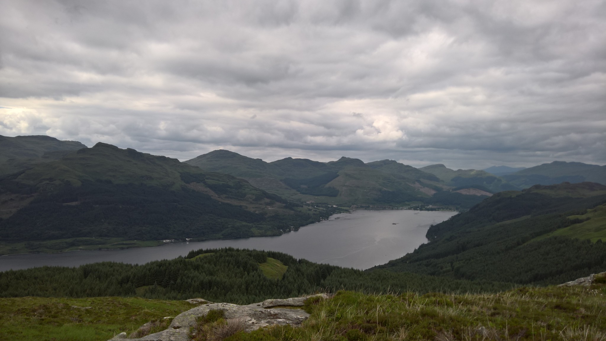 ViewRanger - The Saddle from Lochgoilhead - Promenad route in